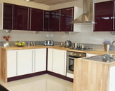Coloured High Gloss Kitchens For Sale